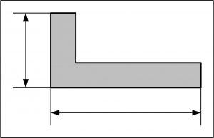Maße im Grundriss
