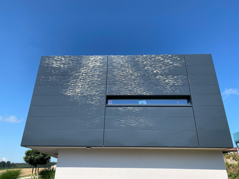 Libellenflügelstruktur als DOMICO Fassaden Highlight