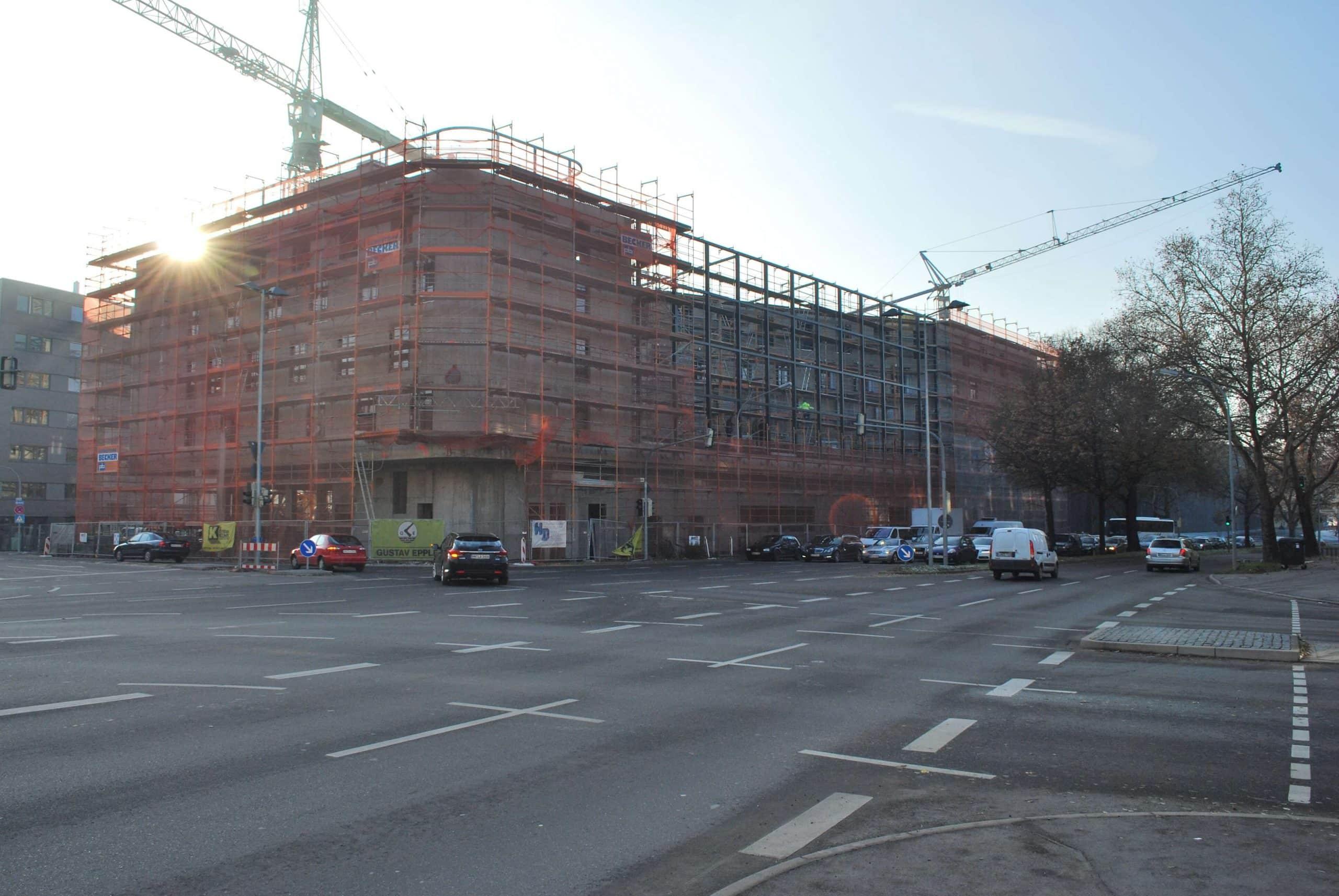 EPS – Flachdach-/Gefälledämmung Hotel Mercure Stuttgart
