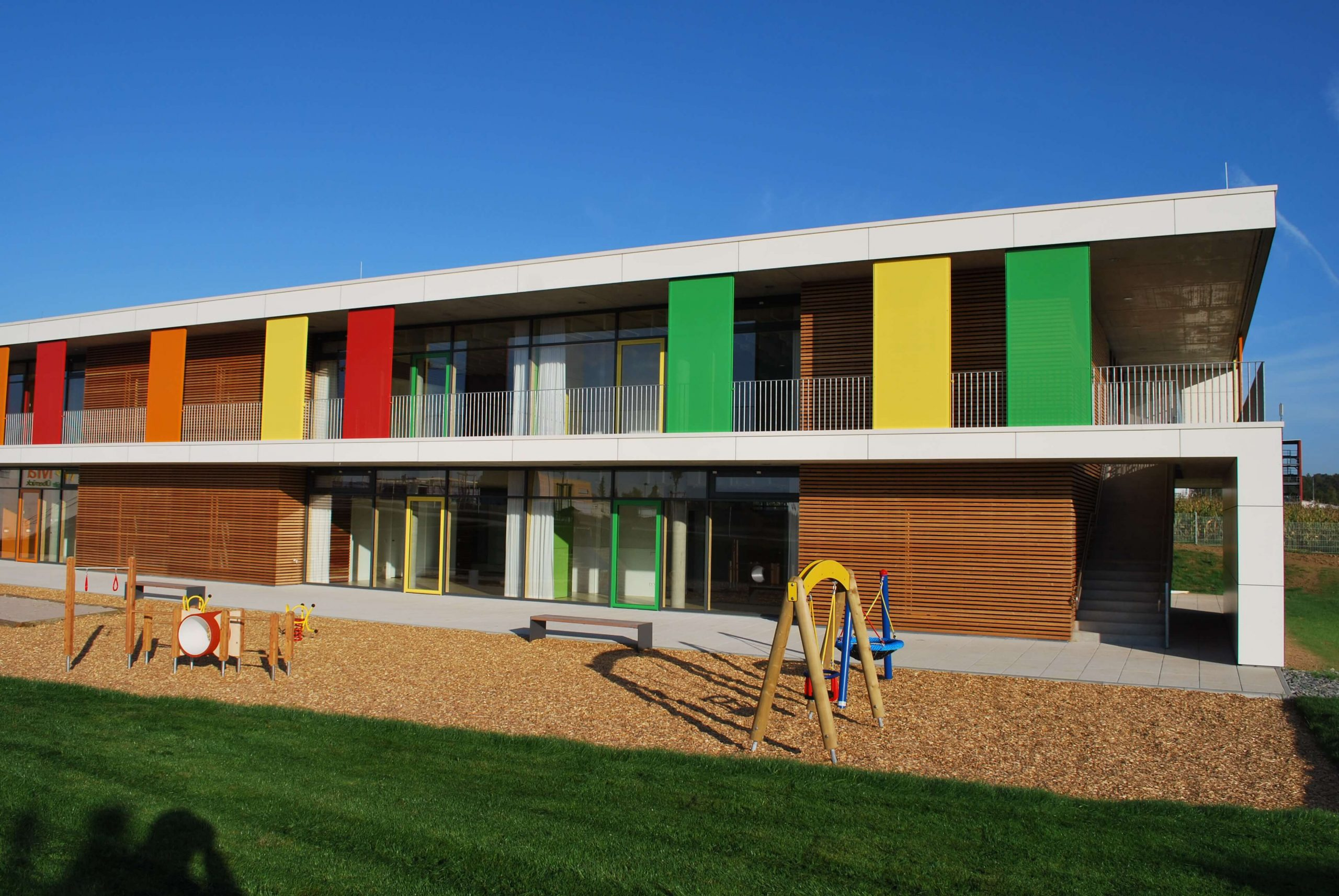 EPS - Perimeterdämmung, Kindertagesstätte Pakete_Dach